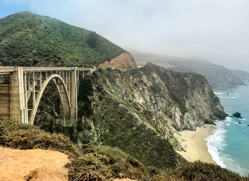 Bixby Creek Bridge Big Sur California