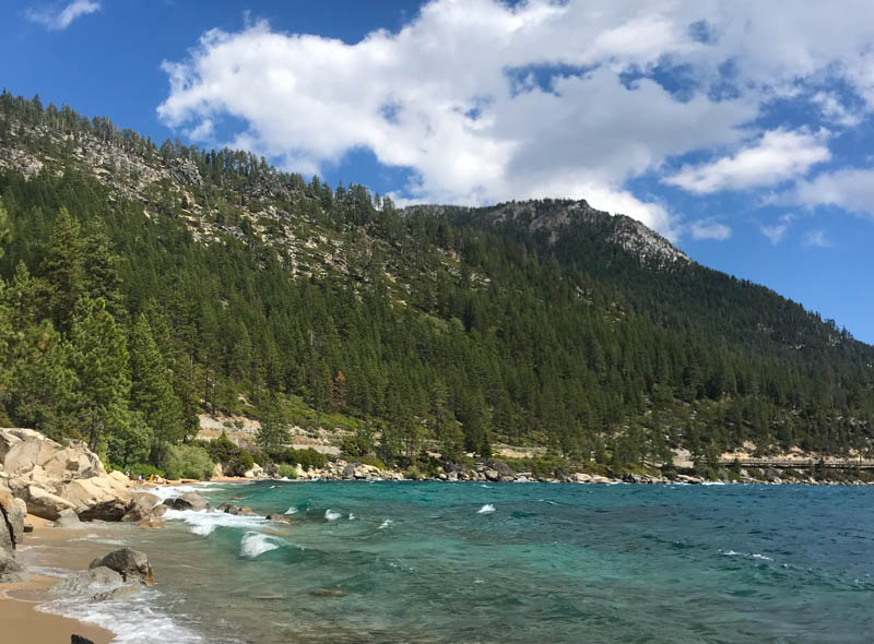 Lake Tahoe in the High Sierra