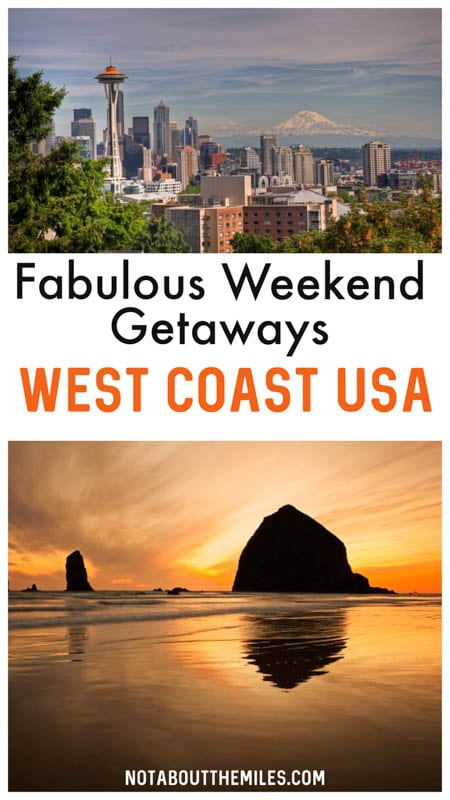 Discover the most amazing weekend trip destinations on the US West Coast! From cities like Seattle and Los Angeles to charming places like Big Sur and Lake Tahoe, find the perfect escape for your next weekend out!