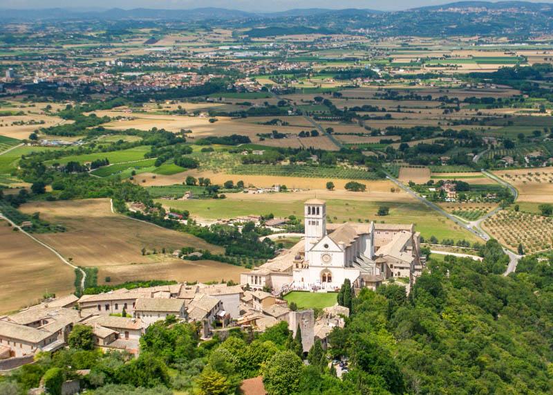 Assisi in Umbria Italy
