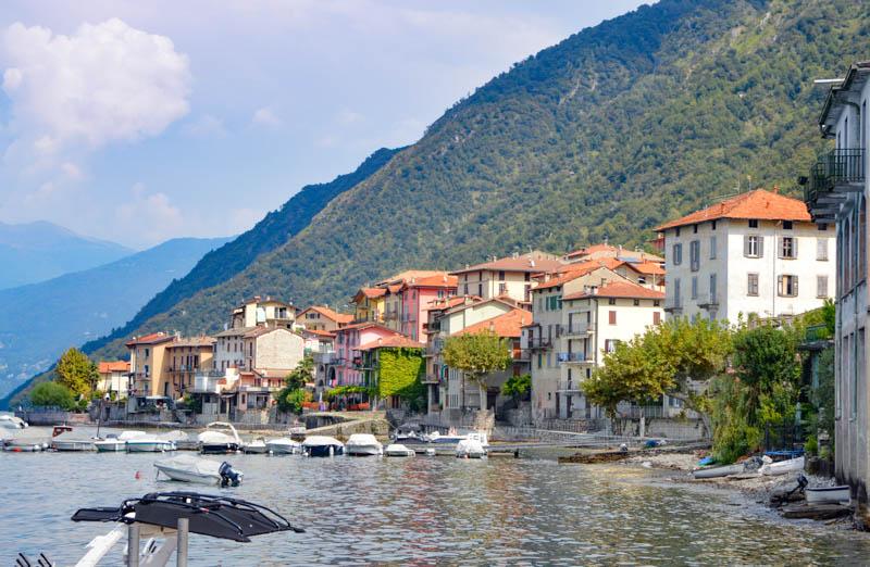 Lezzeno on Lake Como in Italy