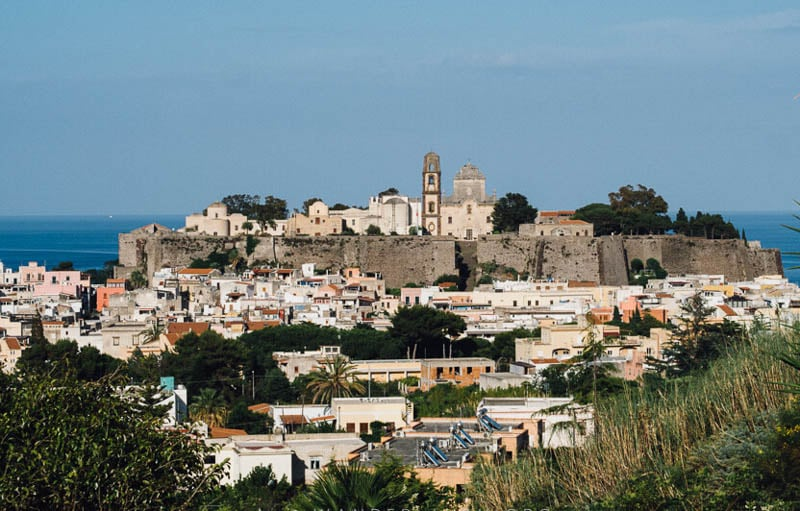 Lipari Sicily Italy