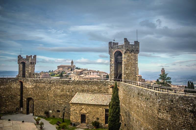 Montalcino Fortress Tuscany Italy