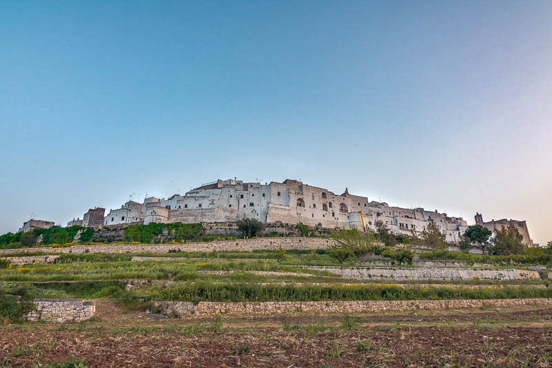 Ostuni in Puglia Italy