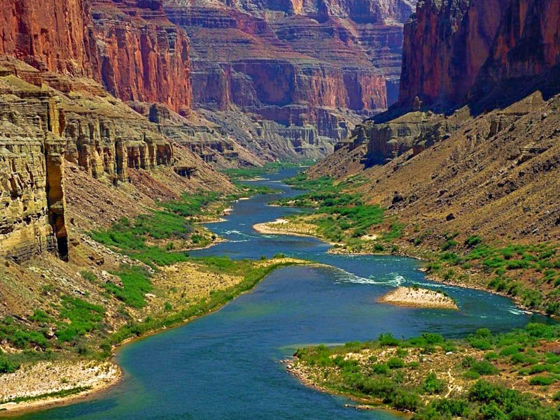 The Grand Canyon is the most-visited place in Arizona