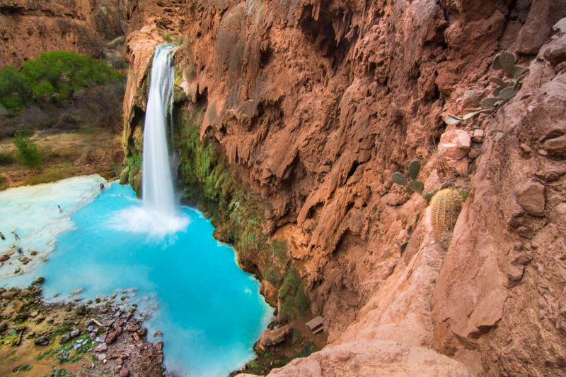 Havasu Falls is one of the top places to visit in Arizona