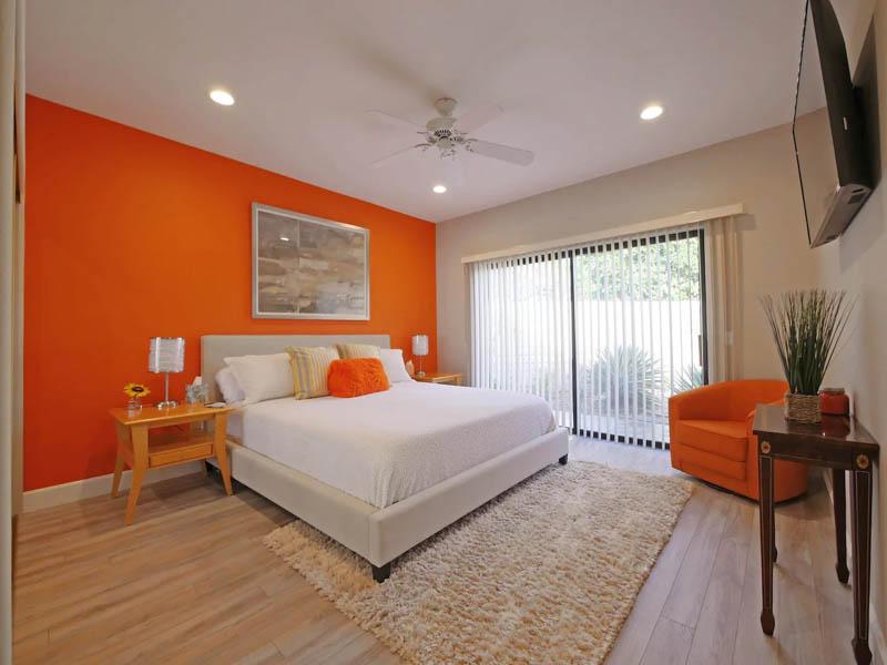Master bedroom Palm Desert AirBnB