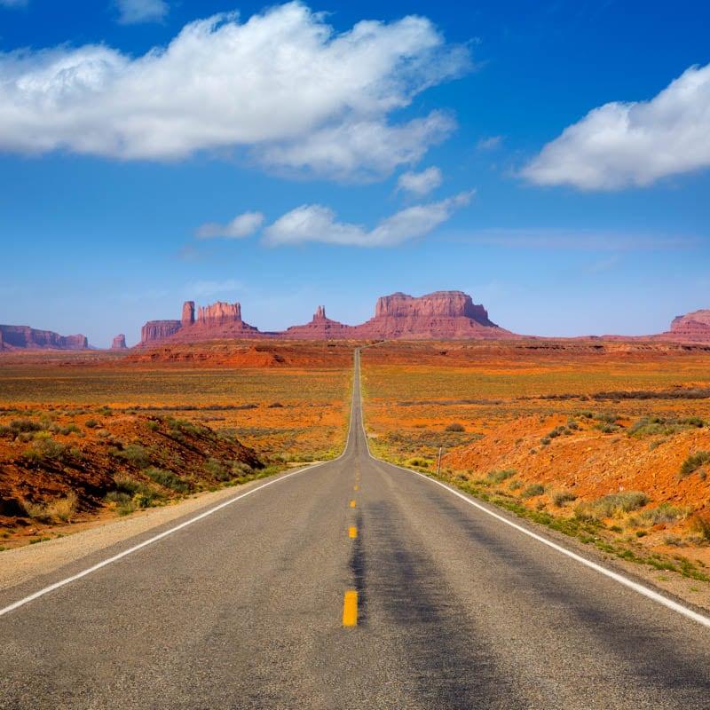 Monument Valley Arizona and Utah