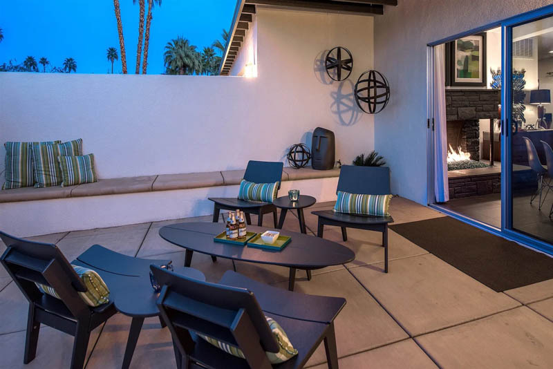 Palm Springs AirBnB Backyard
