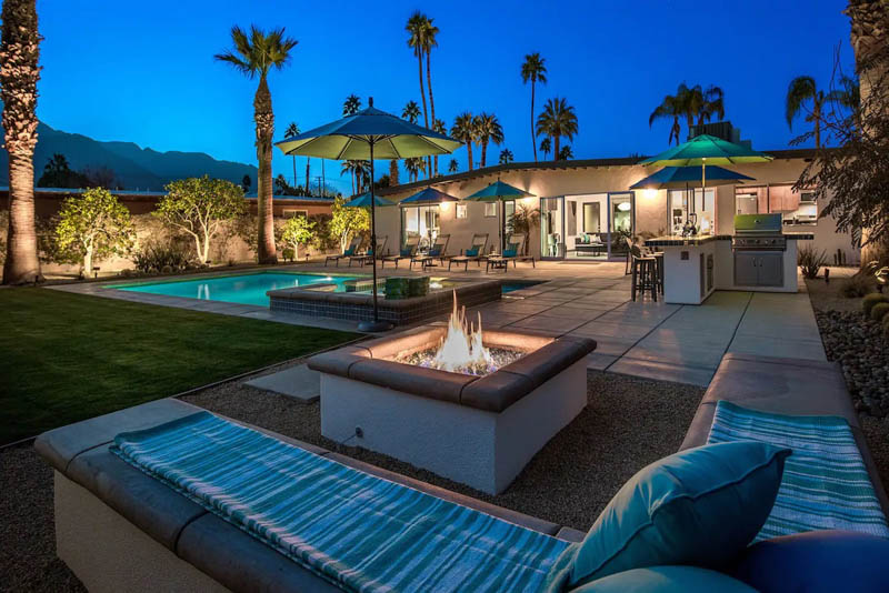 Palm Springs Home with Pool AirBnB