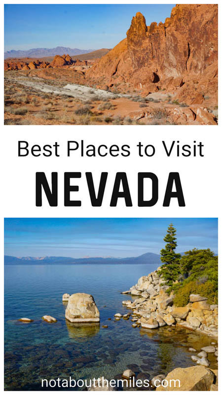 Discover the best places to visit in Nevada from large cities like Las Vegas and Reno to state parks like Valley of Fire and Cathedral Gorge and National Parks like Great Basin and Lake Mead!