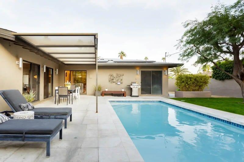 Pool Palm Springs Mid Century Modern