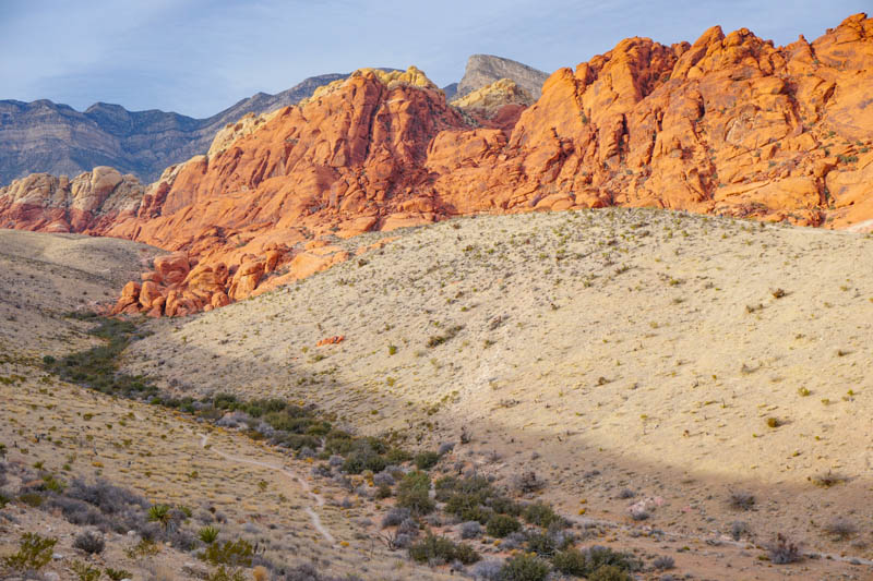 Red Rock Canyon near Las Vegas Nevada