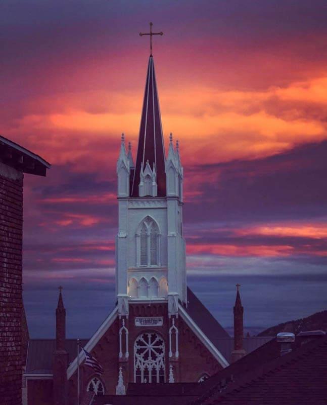Saint Mary's in the Mountains Church Virginia City Nevada