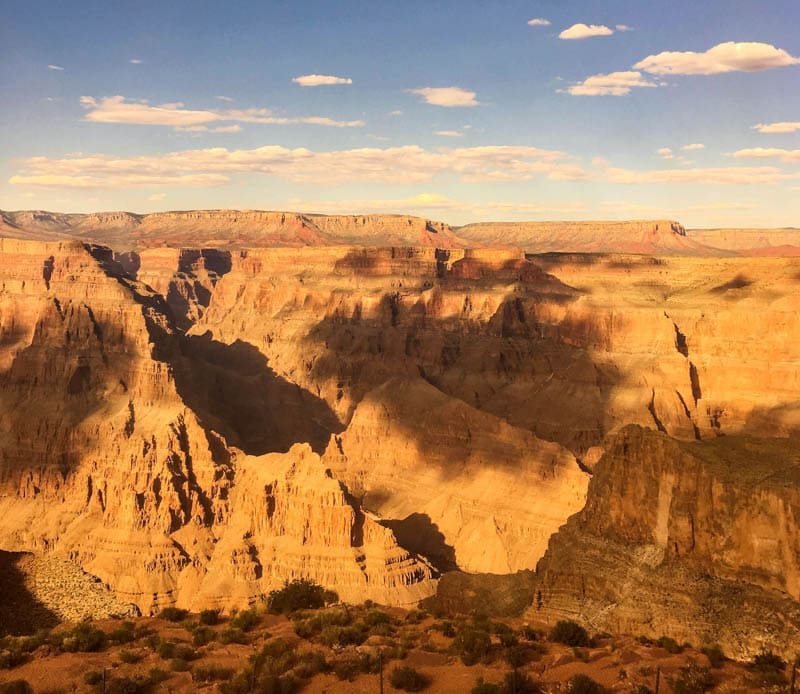 View of Grand Canyon Arizona