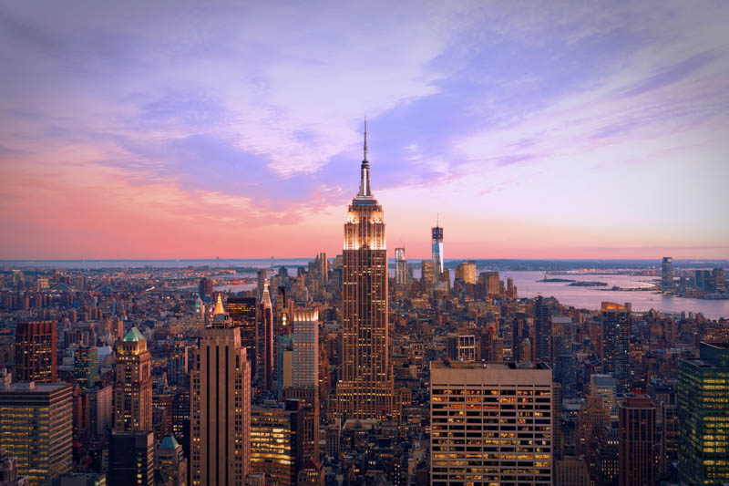 New York City should be at the top of your list of weekend getaways in the USA!
