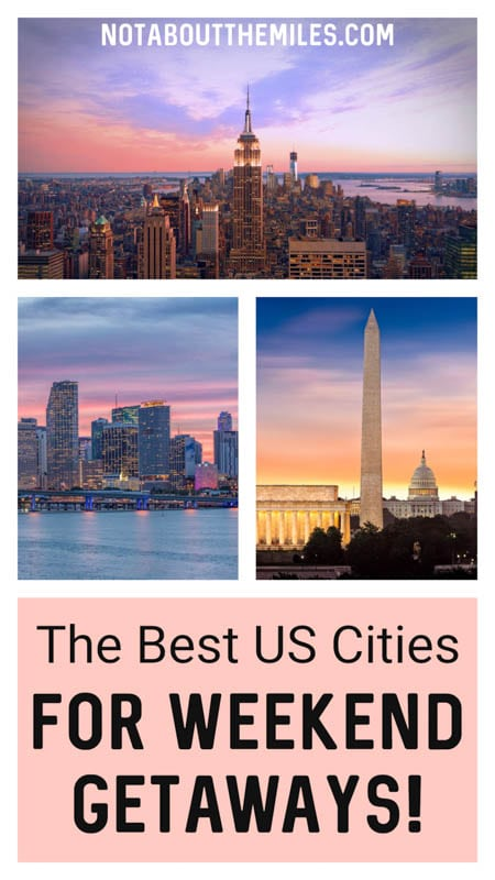 Looking for US city break destinations? Check out our round-up of the most exciting cities for USA weekend trips, from Boston and NYC to NOLA and San Francisco!