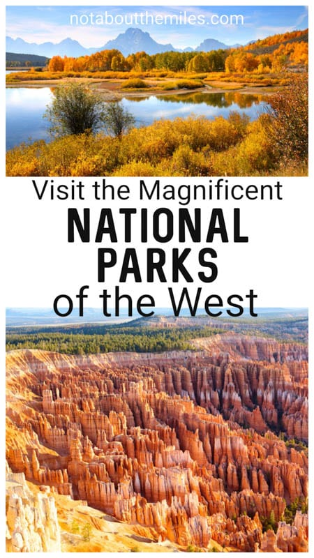 Discover the best national parks in the west to put on your bucket list, from Yellowstone and Grand Teton to Rocky Mountain and Glacier!