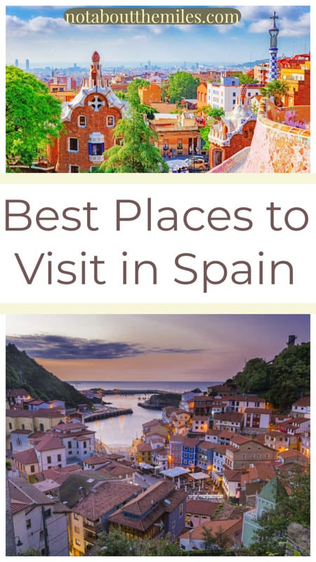 Discover the most beautiful places to visit in Spain, from vibrant cities like Barcelona and Seville to charming white villages, beaches, and national parks.