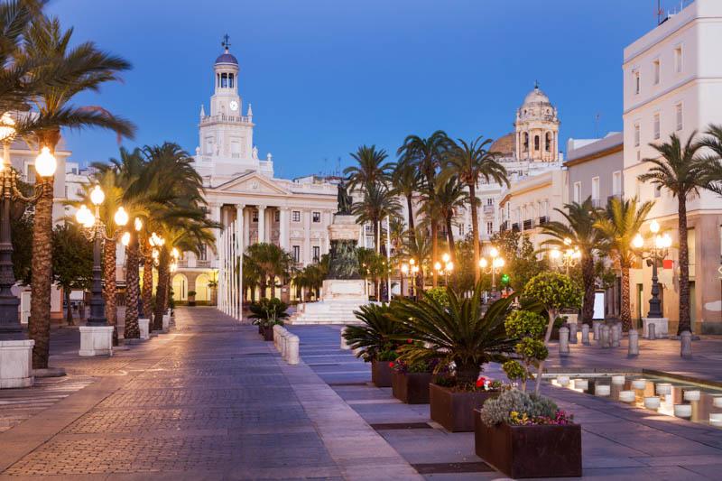 City Hall in Cadiz Spain