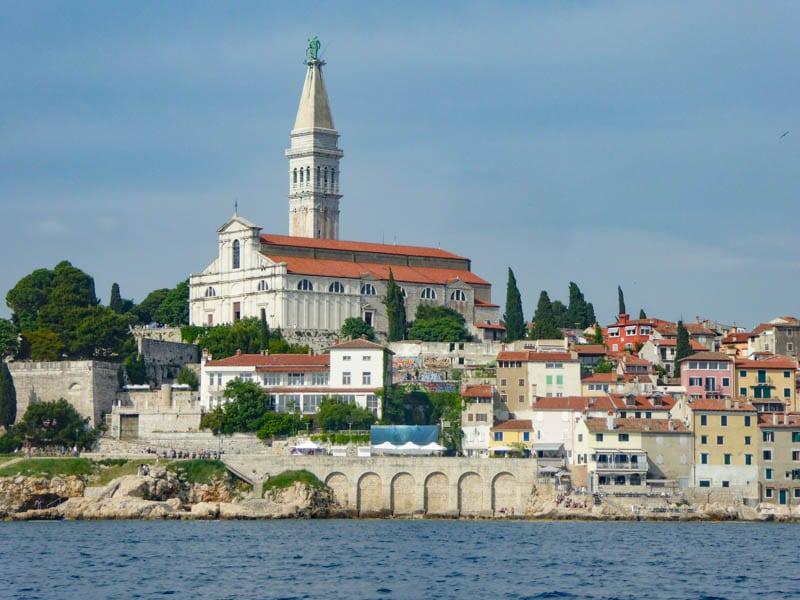 Church of Saint Euphemia in Rovinj Croatia