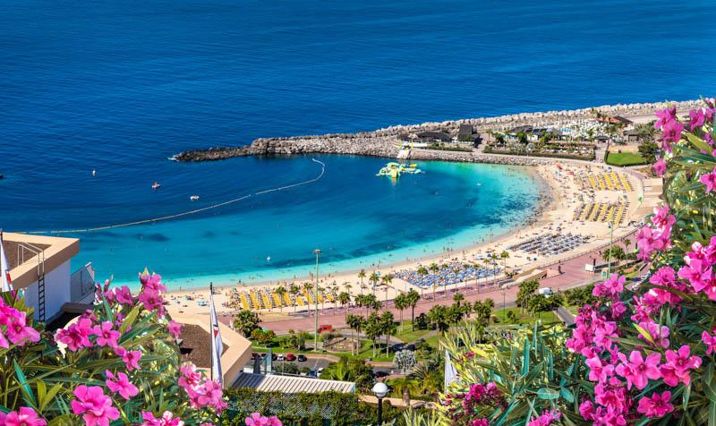 Amadores Beach Gran Canaria Spain
