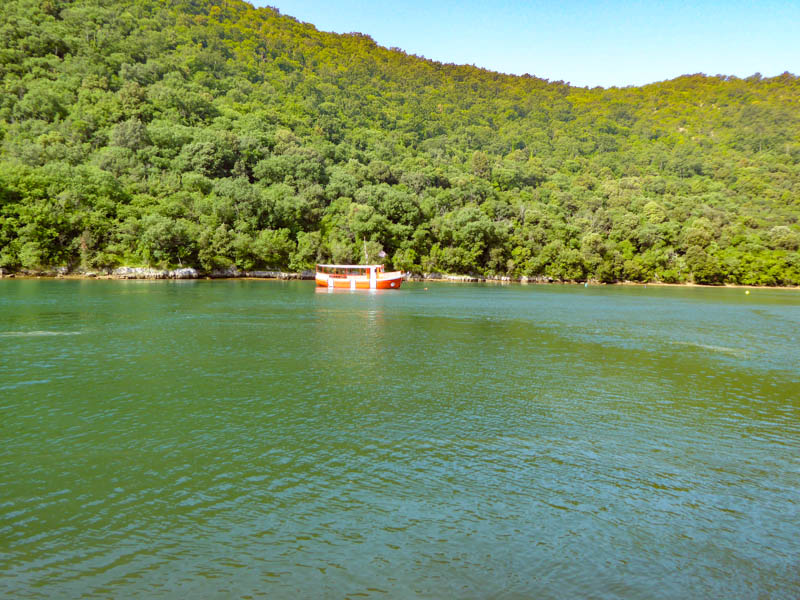 Lim Fjord near Rovinj Croatia