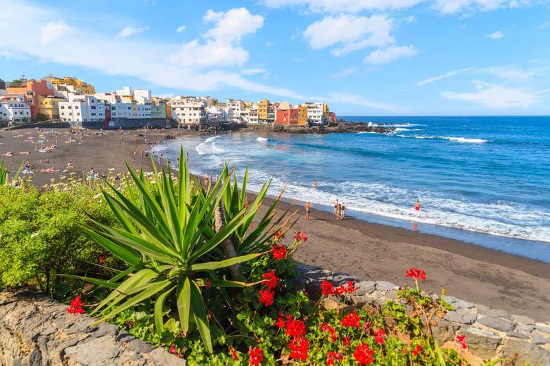 Puerto de la Cruz Tenerife Spain