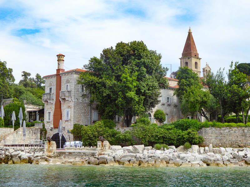 Resort on Red Island near Rovinj Croatia