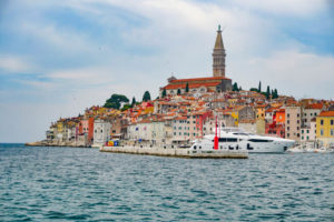 The Beautiful Istrian Town of Rovinj in Croatia