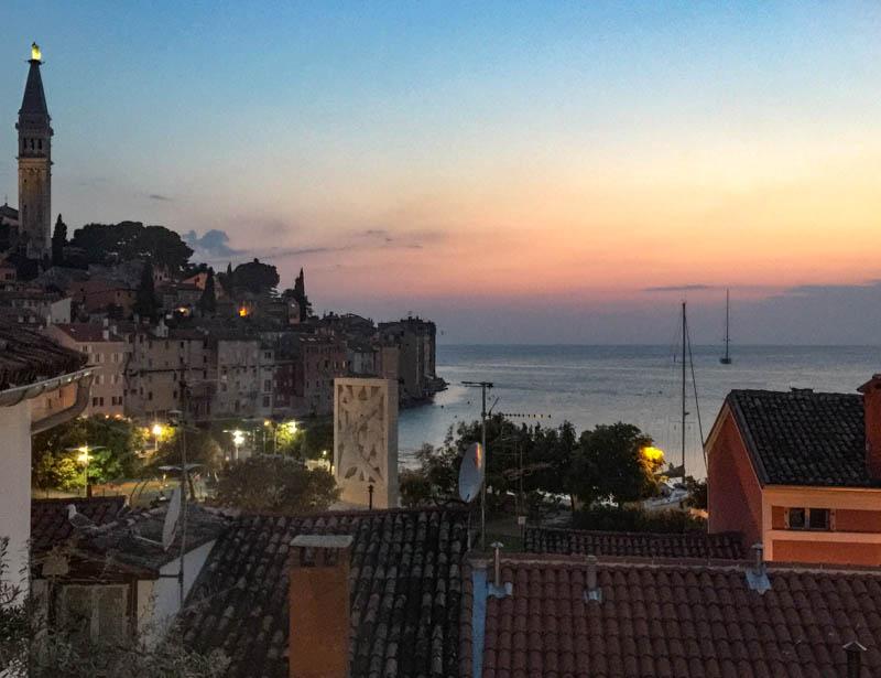 Rovinj Sunset Croatia