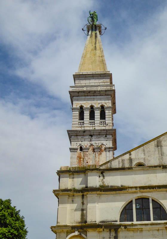 Saint Euphemia Bell Tower in Rovinj Croatia