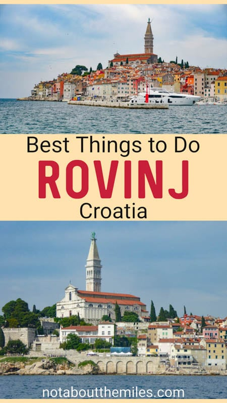 Discover the best things to do in Rovinj, Croatia! The beautiful town on the Istrian Coast is a must-visit! Plus day trips from Rovinj, and where to stay.