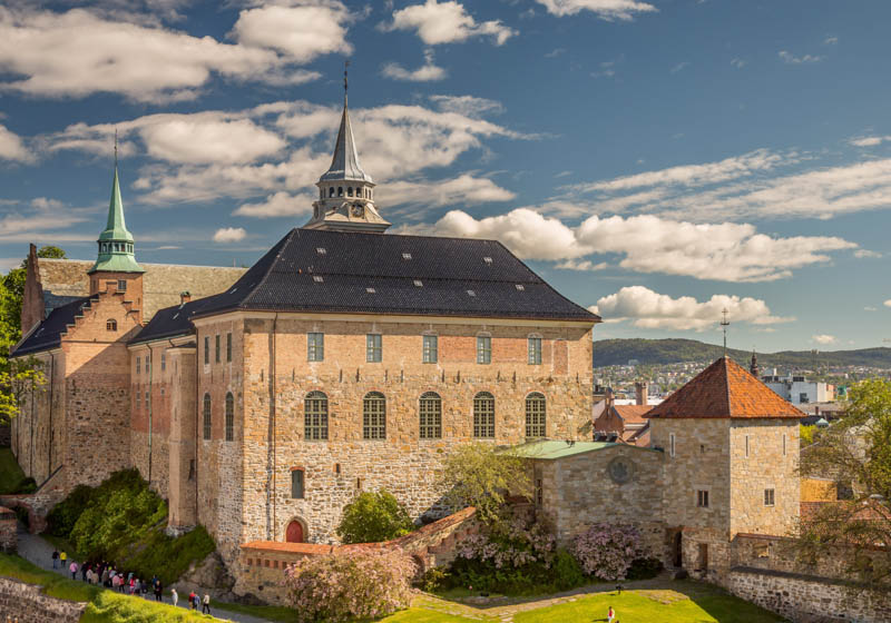 Akershus Fortress in Oslo Norway