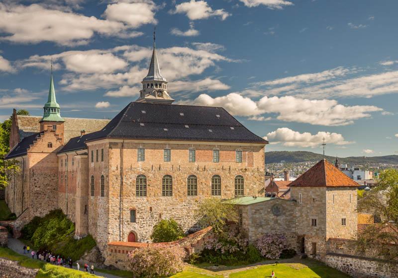 Akershus Fortress in Oslo Norway