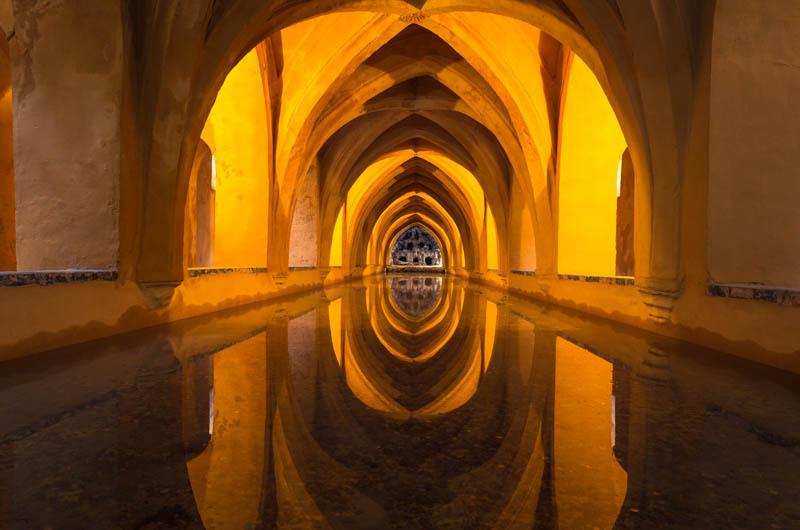 Royal Baths at the Seville Alcazar