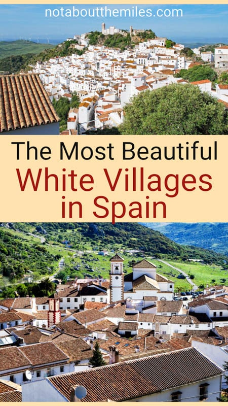 Discover the most beautiful white villages in Spain, from Andalusian pueblo blancos like Vejer de la Frontera and Grazalema to Catalonia beauties like Cadaques!