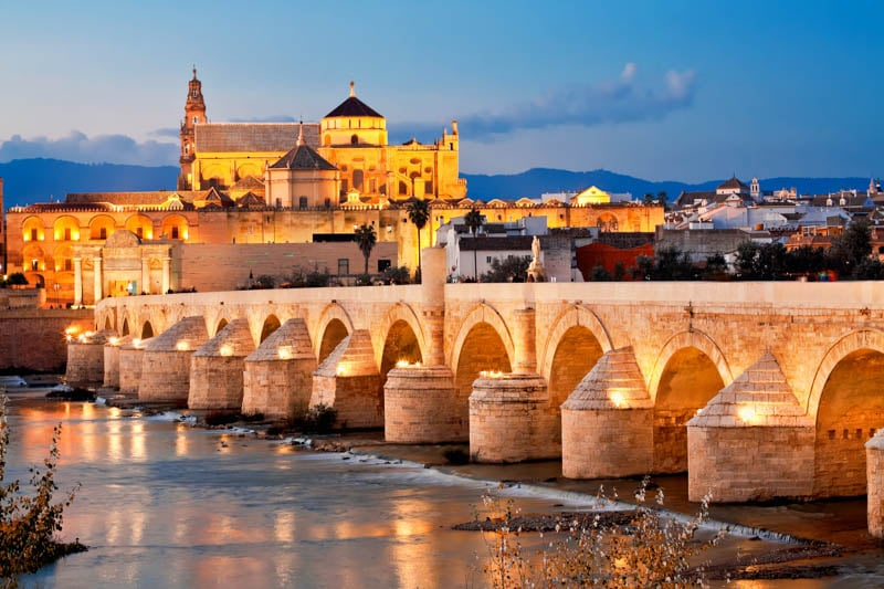 Visiting the Mezquita of Cordoba is one of the best things to do in Andalusia, Spain!