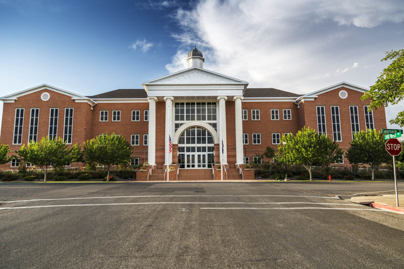 Fifth Judicial District Courthouse in Saint George Utah