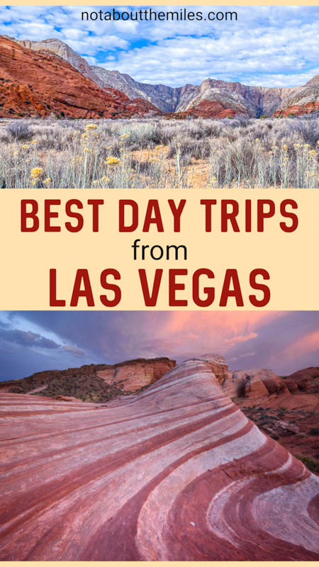 Discover the best day trips from Las Vegas, Nevada! From national parks and state parks to road trips and cities, there's a lot to see and do around Vegas!