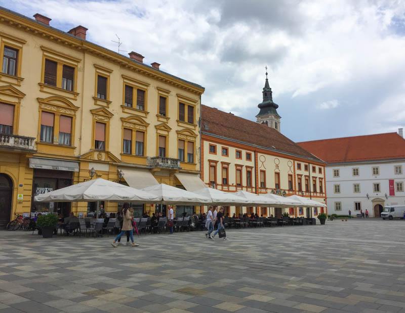 Main Square Varazdin Croatia