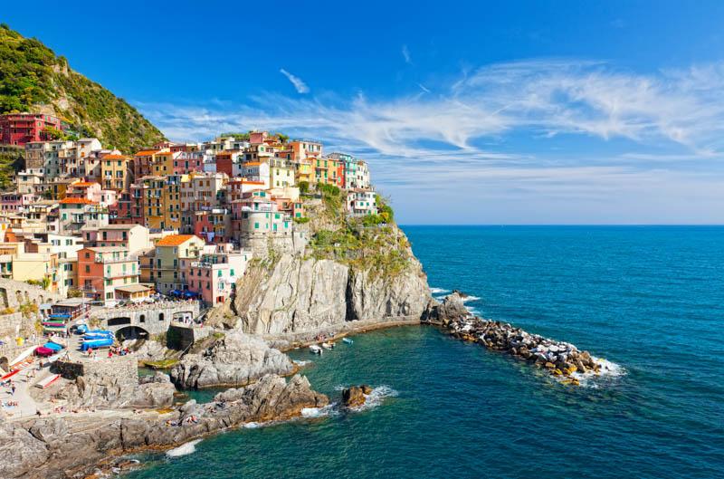 Manarola, one of the Cinque Terre in Italy