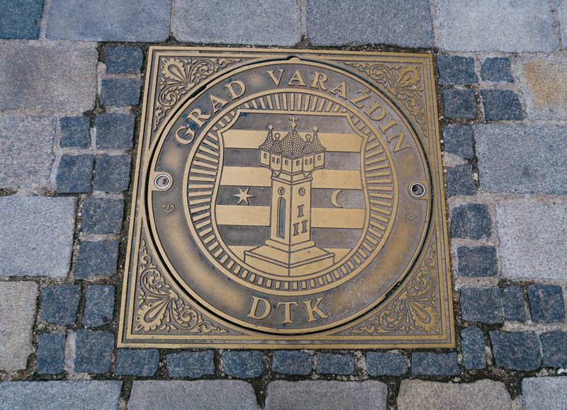 Manhole Cover in Varazdin Croatia