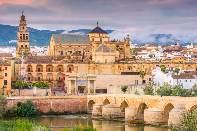 The Mezquita of Cordoba in Andalusia Spain
