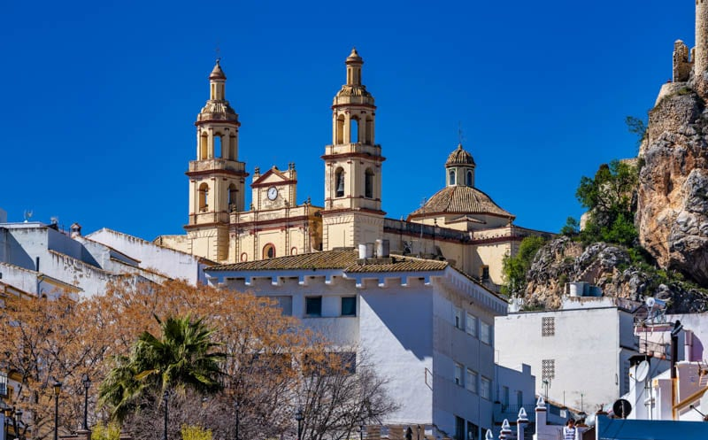 Olvera in Southern Spain