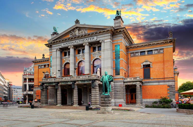 Oslo National Theatre Oslo Norway