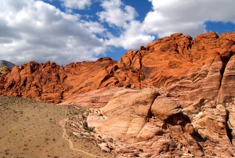 Red Rock Canyon National Conservancy Area in Nevada