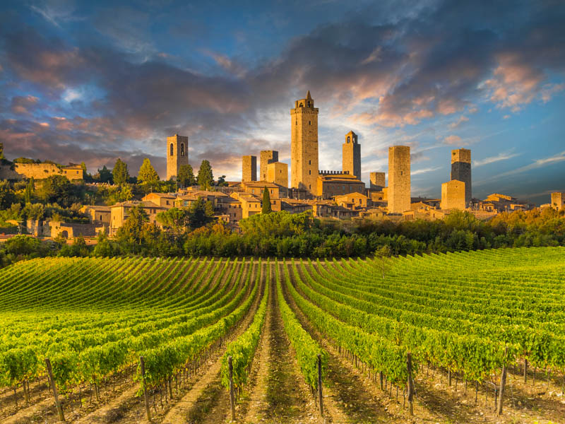 San Gimignano is one of the best day trips from Florence, Italy