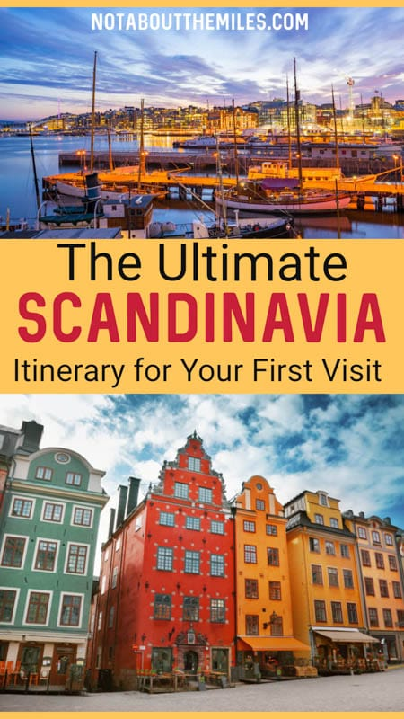 Discover the best first-time itinerary for Scandinavia, from the natural beauty of Norway to sparkling cities like Stockholm, Copenhagen, and Oslo.