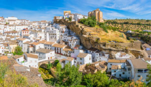 Setenil de las Bodegas is one of the most beautiful white villages in Spain